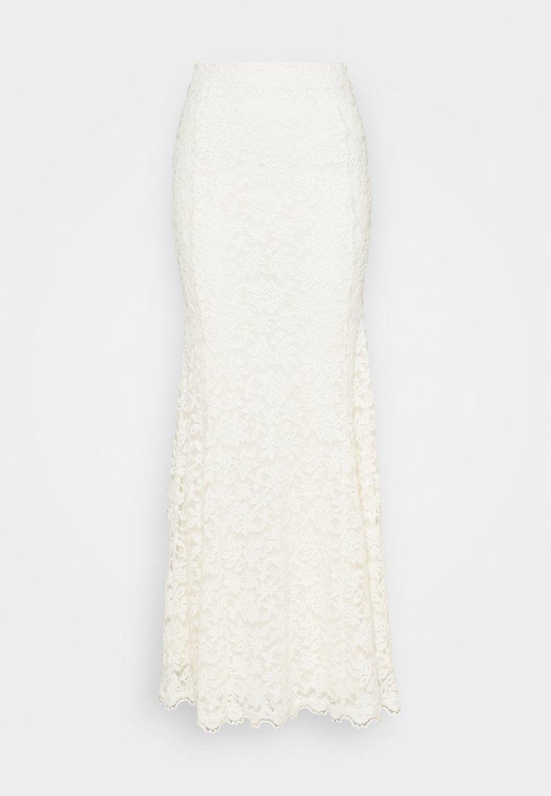 Rosemunde - LONG SKIRT - Maxi sukně - ivory