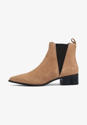 CHELSEA - Classic ankle boots - mittelbraun