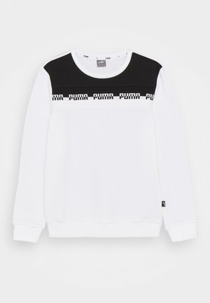AMPLIFIED CREW  UNISEX - Sweater - white