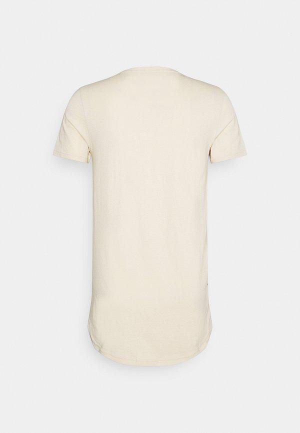 Redefined Rebel JAX - T-shirt basic - sandshell/piaskowy Odzież Męska RFMX