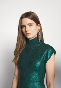 Hervé Léger - MOCK NECK DRESS - Sukienka etui - green - 3