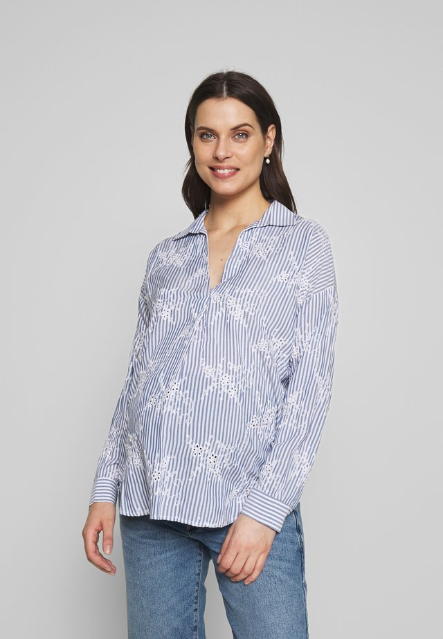 EGLE - Camisa - blue/white