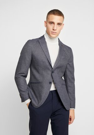 JPRROTTERDAM BLAZER SLIM FIT - Blazer jacket - dark navy