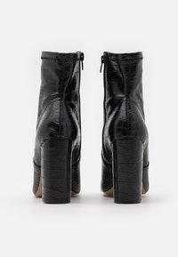 Call it Spring - SERENN - Ankelboots med høye hæler - black - 3