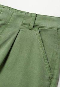Mango - MAURO - Trousers - kaki - 7