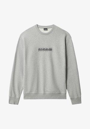 B-BOX CREW - Sweatshirt - medium grey melange