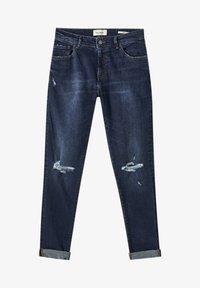 PULL&BEAR - Slim fit jeans - dark blue - 6