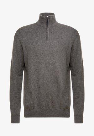 HALF ZIP - Svetr - dark grey