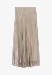 Mango - BREEZE-A - Pleated skirt - beige - 5