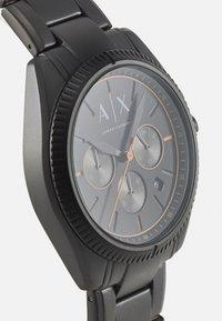 Armani Exchange - Hodinky se stopkami - black - 3