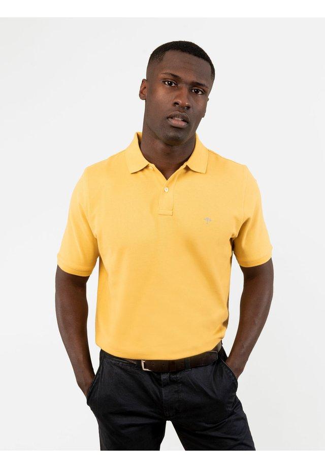 Polo shirt - lemon