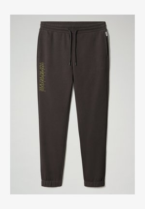 MALLAR - Tracksuit bottoms - dark grey solid