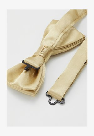 ONSTRENT BOW TIE BOX HANKERCHIEF SET - Kapesník do obleku - golden spice