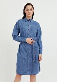 Finn Flare - Denim dress - blue - 0