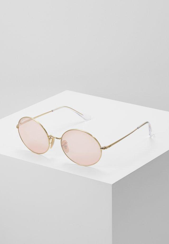 Okulary przeciwsłoneczne - shiny gold-coloured