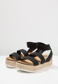 Steve Madden - KIMMIE - Platform sandals - black - 4
