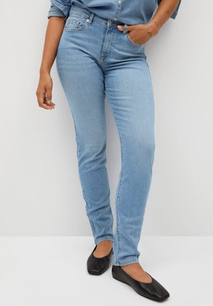 SUSAN - Jeansy Straight Leg - hellblau