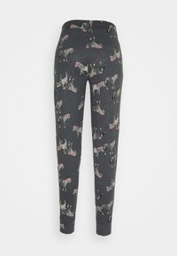 Marks & Spencer London - ZEBRA PANT - Pyjama bottoms - charcoal - 1