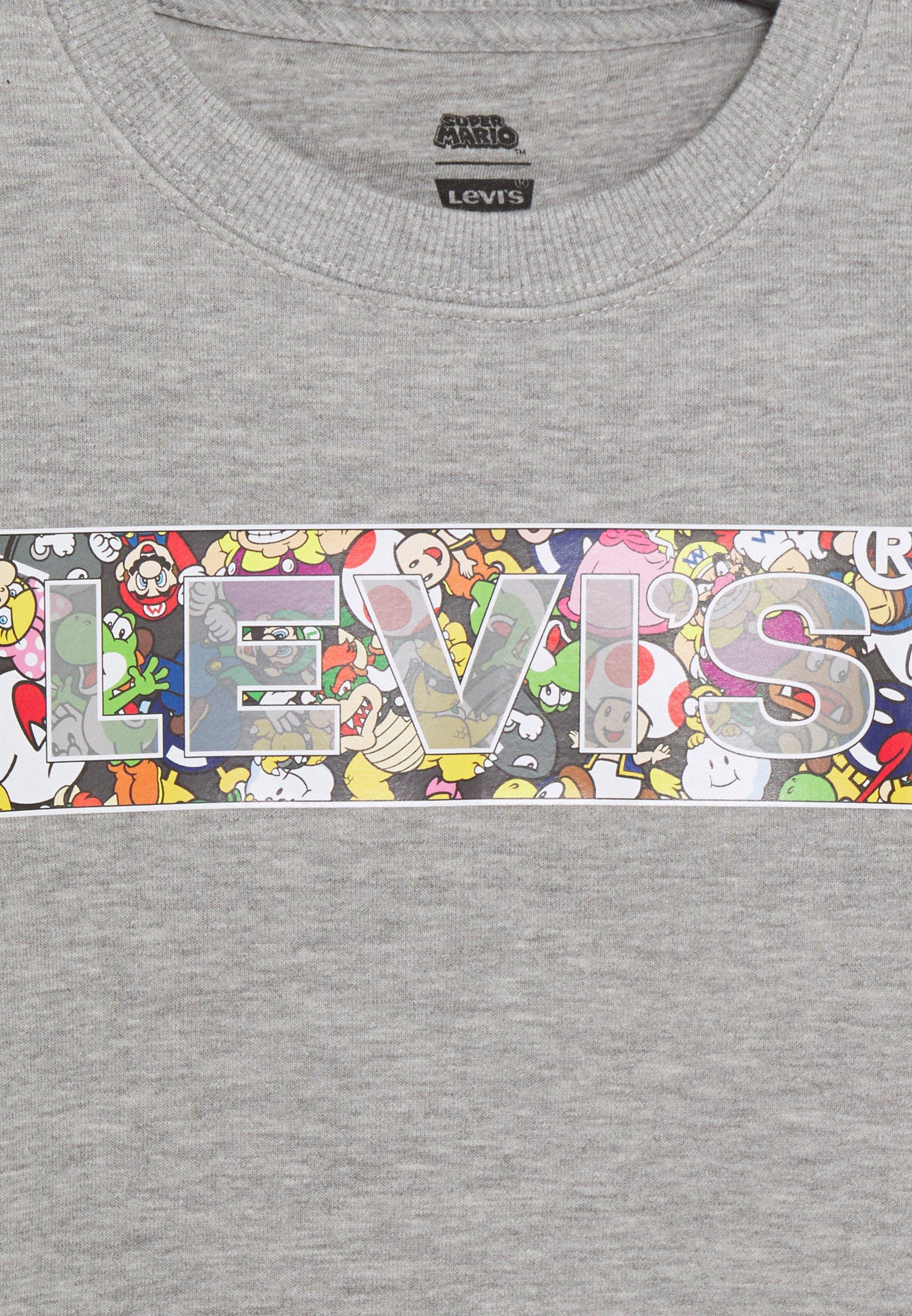 Levi's® MARIO COIN CREWNECK Sweater grey heathergrijs