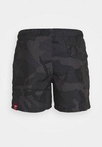 Alpha Industries - BASIC SWIM - Swimming shorts - black - 1