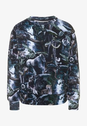 MIK - Sweatshirt - black/multicolor
