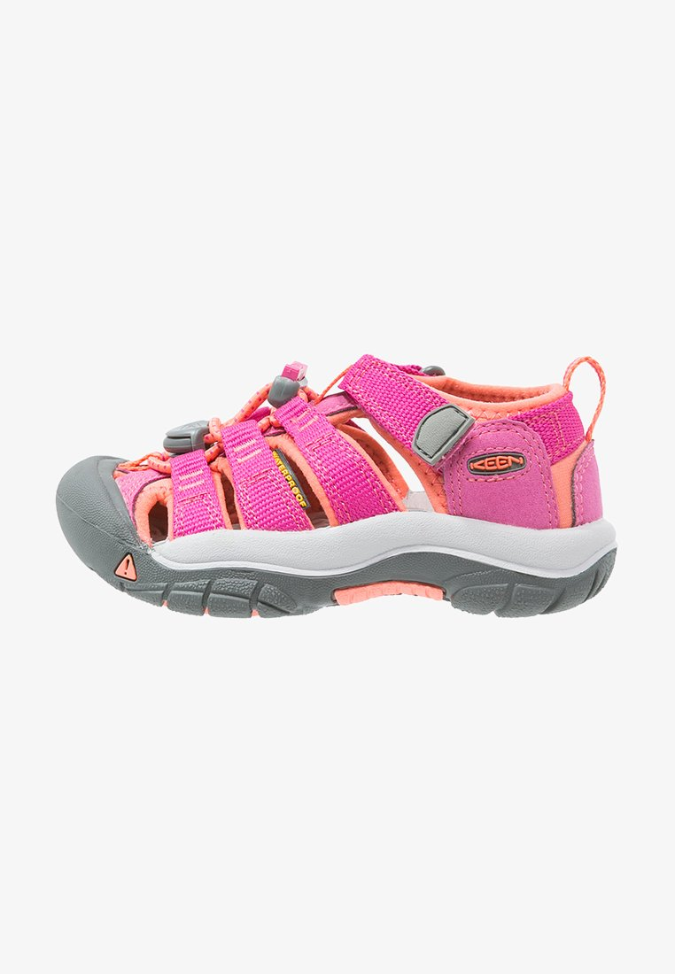 Keen - NEWPORT H2 - Walking sandals - very berry/fusion coral