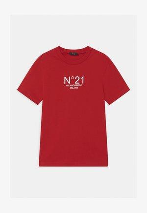 MAGLIETTA UNISEX - T-shirt imprimé - red