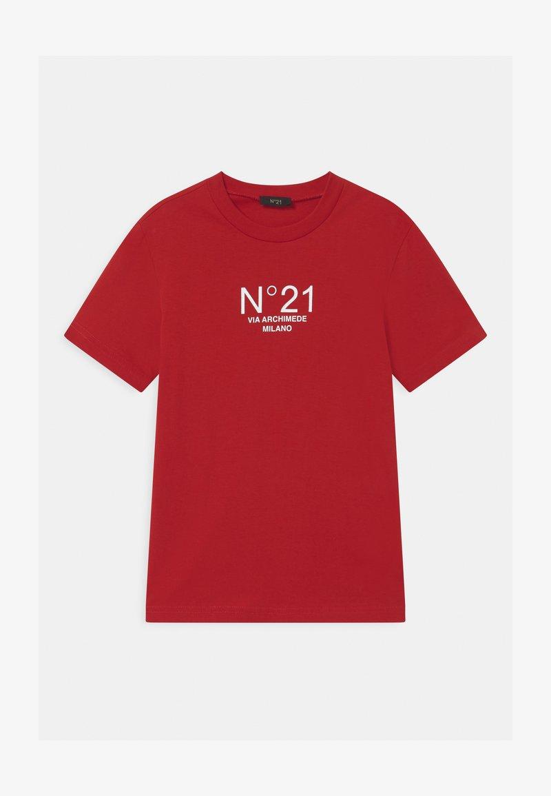 N°21 - MAGLIETTA UNISEX - Print T-shirt - red
