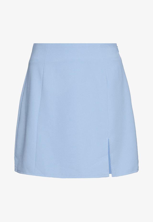AVANTI SKIRT - Spódnica mini - blue