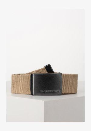 ESBJERG - Belt - silver mink