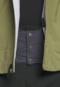 Salomon - OUTLAW - Hardshell jacket - martini olive/olive night/ebony - 9