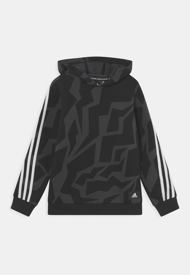 Hoodie - carbon/black/white