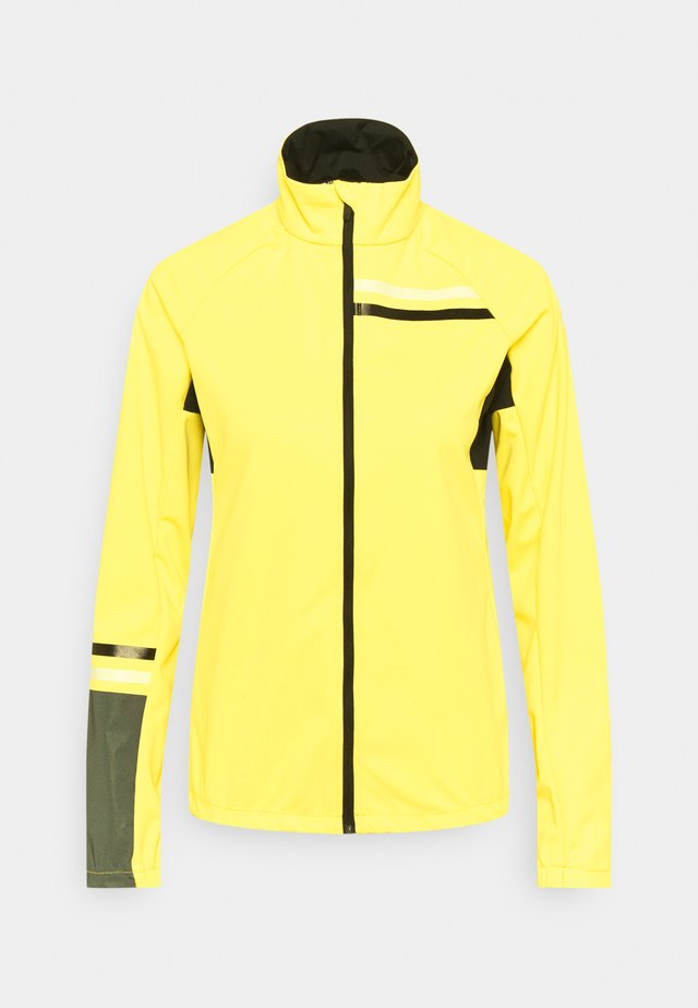 ROMBY - Veste coupe-vent - pale yellow