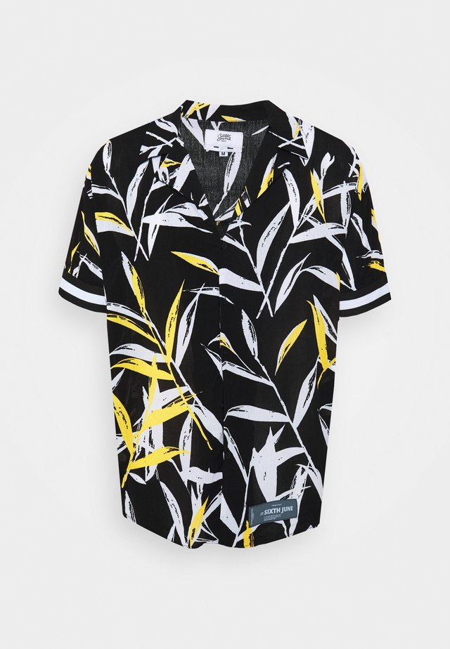 BANDANA TROPICAL - Camisa - black