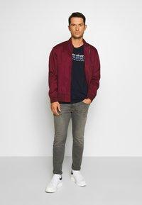 camel active - FLEX - Straight leg jeans - grau - 1