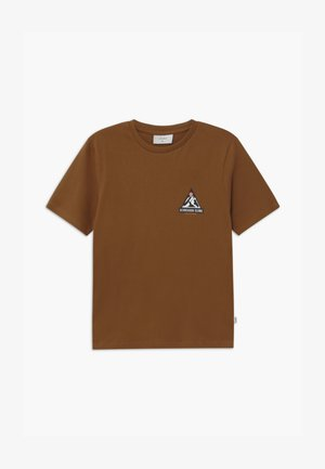 WARINO TEE - Triko s potiskem - coffee brown