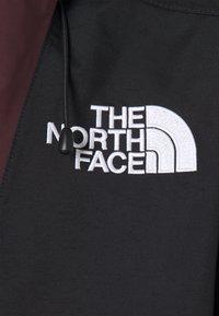 The North Face - SILVANI ANORAK - Ski jacket - bordeaux/black - 7