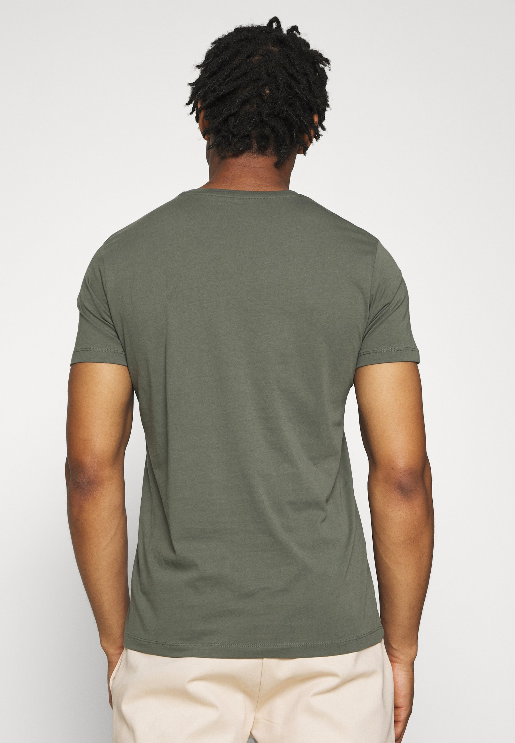 Esprit LOGO - Print T-shirt - khaki green L9v4i