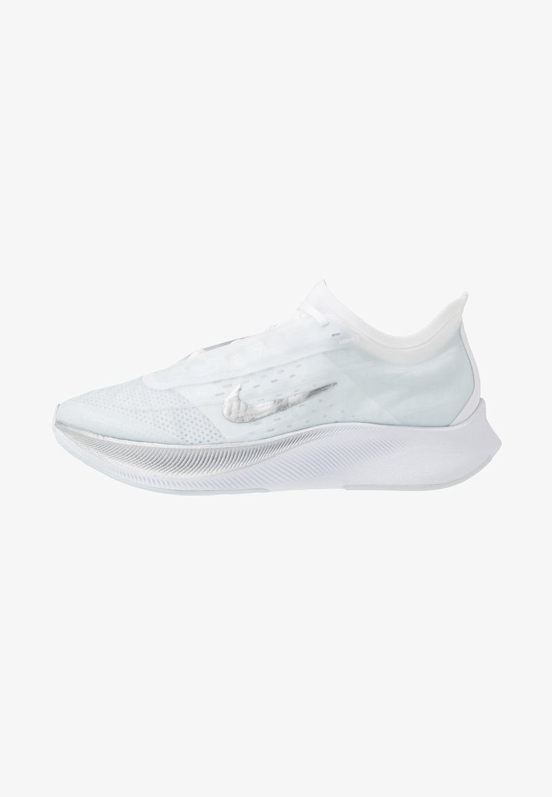 Nike Performance - ZOOM FLY 3 - Neutral running shoes - pure platinum/metallic silver/white/aura