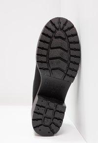 Victoria Shoes - ZAPATO LONA PISO - Kotníková obuv - black - 5