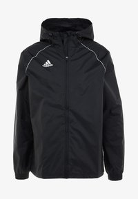 adidas Performance - CORE ELEVEN FOOTBALL JACKET - Hardshell-jakke - black/white - 4