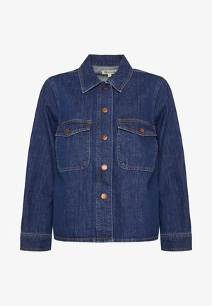 SNAP FRONT - Denim jacket - hilliard wash