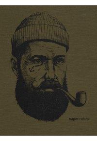 super.natural - Print T-shirt - olivgrün - 3