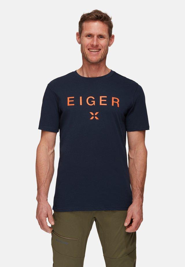 SEILE  - T-shirt con stampa - night