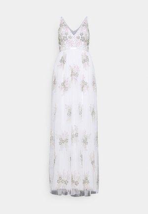 EMBELLISHED BOW BACK DRESS - Ballkjole - white