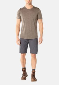 Icebreaker - MENS SPHERE CREWE - Basic T-shirt - brown - 1