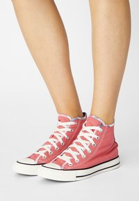 Converse - CHUCK TAYLOR ALL STAR SUMMER FEST PATCH - High-top trainers - terracotta pink/egret/black - 0