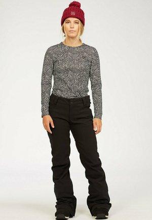 TERRY - Snow pants - black