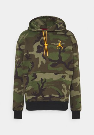JUMPMAN AIR CAMO - Sweat à capuche - medium olive