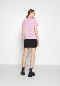 YAS - YASTEA O NECK TEE - Jednoduché triko - pastel lavender - 2
